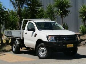 2015 Ford Ranger PX XL White 6 Speed Manual Cab Chassis Strathalbyn Alexandrina Area Preview
