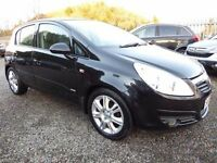 Vauxhall Corsa 1.2i Design 16v ....5 Door Edition, Half Leather and with a New 12 Months MOT
