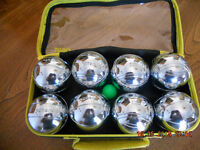 OBUT set of 8 boules in a plastic case (4 sets of 2)