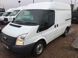 FORD TRANSIT 2.2 280 1d 124 BHP MEDIUM ROOF AND 125 PS (white) 2013