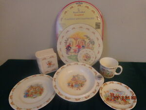 BUNNYKINS Collection: Includes Rare Hot Water Plate! All for $35