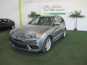 BMW X3 XDRIVE 28i 2014 4X4**TOIT PANORAMIQUE,SIÈGE EN CUIR & ++