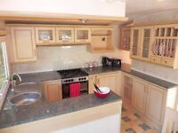 Cheap centre lounge static caravan for sale Isle Of Wight Thorness Bay Holiday Park, sea views