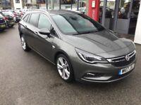 Vauxhall Astra 1.6 CDTi Bi-Turbo 16V 160 SRi Nav 5dr (grey) 2017