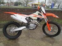 KTM XCF 350 2017 ENDURO MOTOCROSS MOTORCYCLE