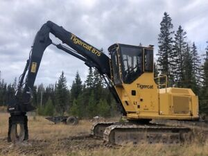 2014 TIGERCAT 875 LOG LOADER