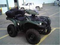 2014 YAMAHA GRIZZLY 700 4X4! LOADED, AS NEW 250 MILES!$8995!
