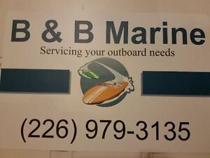 outboards and parts and service.