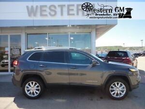 2016 Jeep Cherokee Limited V6 AWD Heated Leather NAV Backup Came