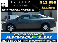 2012 Toyota Corolla LE $119 Bi-Weekly APPLY NOW DRIVE NOW