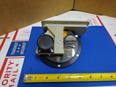 Microscope Part Reichert Leica Polyvar Filter Wheel Optics As Is 65-a-22