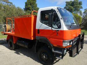 1995 Mitsubishi Canter FG 4x4 Firetruck 3.9l 4x4 Homebush West Strathfield Area Preview