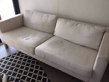 IKEA Sofa cream color, wooden legs Avalon Pittwater Area Preview
