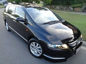 2005 Honda Odyssey 20 Luxury Black 5 Speed Sequential Auto Wagon Chermside Brisbane North East Preview