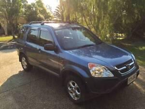2002 Honda CRV SUV Elanora Gold Coast South Preview