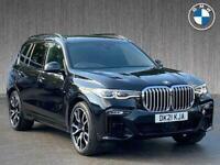 2021 BMW X7 Xdrive40D Mht M Sport 5Dr Step Auto Estate Diesel Automatic
