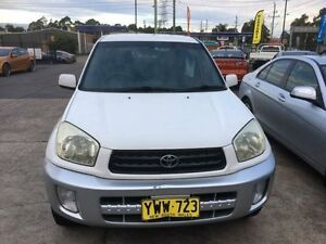2003 Toyota RAV4 ACA21R Extreme Manual Wagon Sandgate Newcastle Area Preview