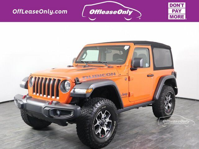Off Lease Only 2020 Jeep Wrangler Rubicon 4X4 Intercooled Turbo Premium Unleaded