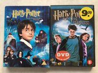 2 Harry Potter DVD's