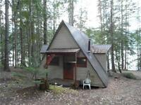 Half Acre on Mabel Lake with 1 bedroom cabin
