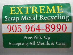 EXTREME Scrap Metal Recycling/100% Free Pick-Up