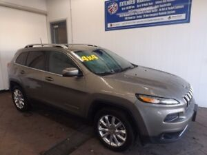 2017 Jeep Cherokee Limited LEATHER NAVI