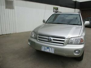 2005 Toyota Kluger MCU28R CVX AWD Silent Silver 5 Speed Automatic Wagon Tottenham Maribyrnong Area Preview