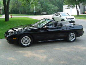 1988 Mazda RX7 Convertible in excellent condition