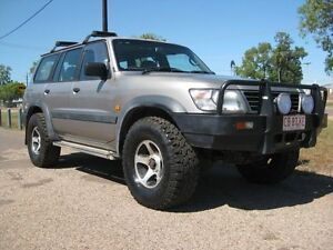 1998 Nissan Patrol Y61 GU 8 ST Silver 5 Speed 5 Sp Manual Wagon Holtze Litchfield Area Preview