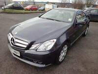 LHD 2010 Mercedes-Benz E250 CDI SE Auto Blue Efficiency Coupe 2Door. SPANISH RE