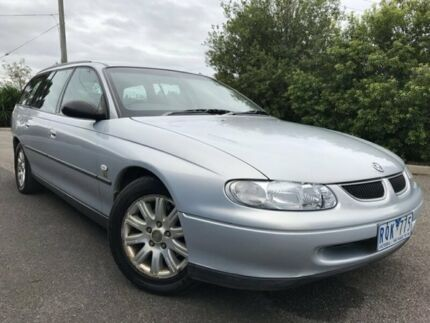 1999 Holden Commodore Vtii Executive Silver 4 Speed Automatic Wagon