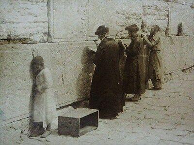 LUIGI FIORILLO JERUSALEM FOTO VINTAGE JEWISH ALBUMEN PHOTO