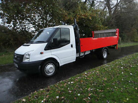 Ford Transit T350 125BHP 14ft Dropside Truck with Tail-lift