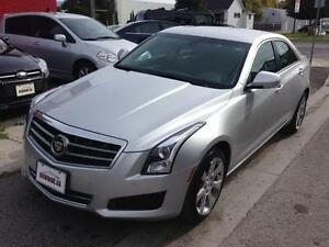 2013 CADILLAC ATS LUXURY AWD - BACK-UP CAMERA & LEATHER