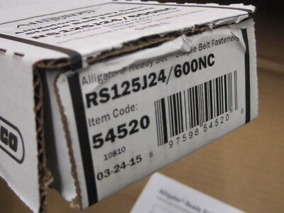 Flexco 54520 Alligator Ready Set Staples Rs125j24600nc