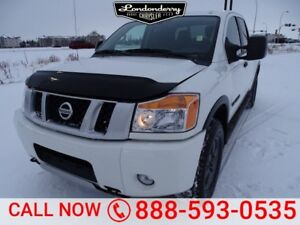 2015 Nissan Titan 4WD CREWCAB PRO-4X Accident Free,  Navigation
