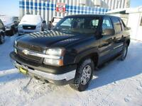 2004 CHEVROLET AVALANCHE 1500 4x4,5.3L ENGINE, $6,950 HAS SAFETY