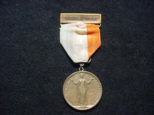 1909 Hudson Fulton Celebration Citizens Committee Medal