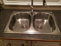 Blanco Brushed Stainless Steel Sink