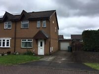Semi detached 3 Bedroom House in Elizabeth Quadrant Holytown - Available Now