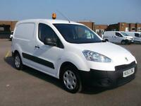 Peugeot Partner L1 850 S 1.6 HDI 92 BHP VAN DIESEL MANUAL WHITE (2013)