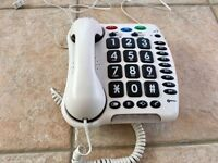 Geemarc ClearSound 100 big button telephone - 30dB - excellent for people with hearing loss