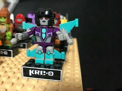 SLIPSTRIKE Collection 4 100% Complete Micro Changers Kre-O Transformers #1