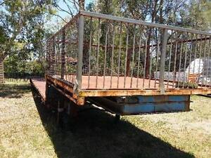 Step Deck Extendable Semi Trailer may Swap or Trade Karalee Ipswich City Preview
