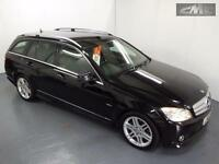 MERCEDES C CLASS C350 CDI BLUEEFFICIENCY SPORT, Black, Auto, Diesel, 2010