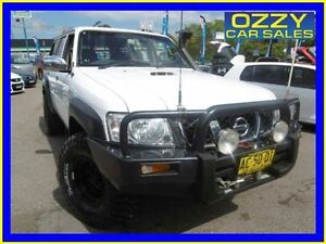 2004 Nissan Patrol GU III DX (4x4) White 4 Speed Automatic Wagon Penrith Penrith Area Preview