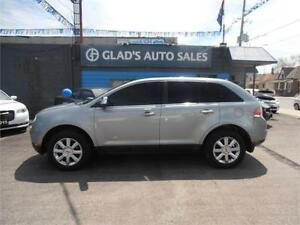 2007 LINCOLN MKX AWD PANORAMIC ROOF WITH NAV!!