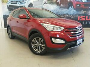 2012 Hyundai Santa Fe DM MY13 Active Red 6 Speed Sports Automatic Wagon Rockingham Rockingham Area Preview