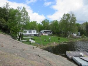 Seasonal Waterfront Cottage on French River Noelville, Ont.