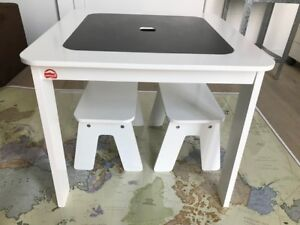 P'kolino Chalk Table and Benches - Kids Furniture